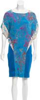 Thakoon Watercolor Mini Dress