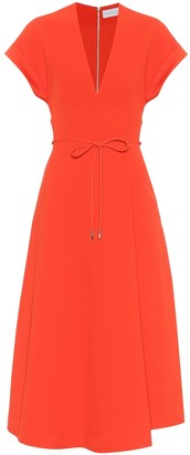 Rebecca Vallance Galerie crepe midi dress