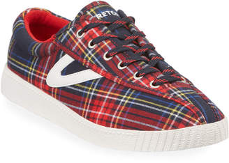 Tretorn Nylite 28 Plus Lace-Up Sneakers