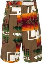 Sacai bermuda shorts
