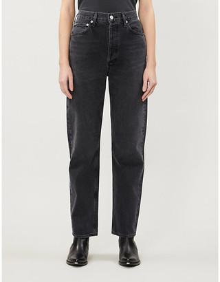 AGOLDE Mr Loose mid-rise straight-leg denim jeans