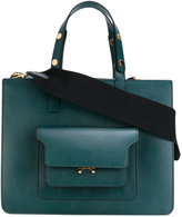 Marni Trunk tote - women - Leather/metal - One Size