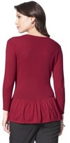 Merona Women's Peplum Cardigan Sweater - Assorted Colors