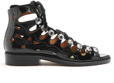 Toga Cut-out leather sandals