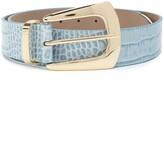 B-Low the Belt B Low The Belt embossed crocodile-effect belt