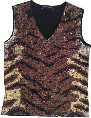 Nice Connection Black Glitter Top for Women