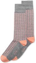 Alfani Men's Box-Grid Socks, Only at Macy's