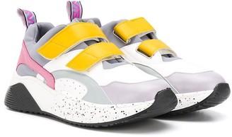 Stella McCartney TEEN multicoloured low-top sneakers
