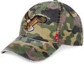 Levi's Men's Camouflage Embroidered Eagle Patch Cotton Baseball Cap