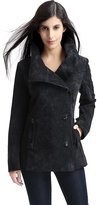 "BGSD Women's ""Aria"" Missy & Plus Size Suede Leather Jacket - S"