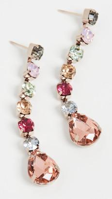 Theia Ariana Linear Drop Earrings