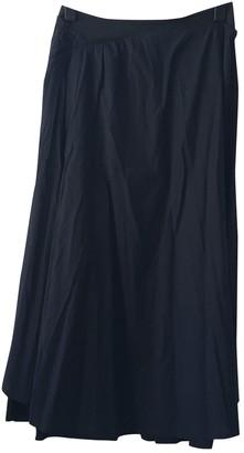 Issey Miyake Blue Cotton Skirt for Women