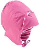 Jo-Jo JoJo Maman Bebe Fleece Lined Tie Hat (Baby) - Fuchsia-0-12 Months