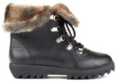 Cougar Zag Faux Fur Lace-Up Waterproof Low Shaft Boot