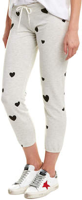 Monrow Scattered Hearts Vintage Sweatpant