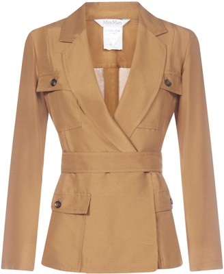 Max Mara Belted Jacket