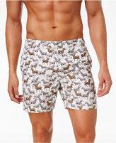 Original Penguin Men's Slim-Fit Zebra Volley Shorts