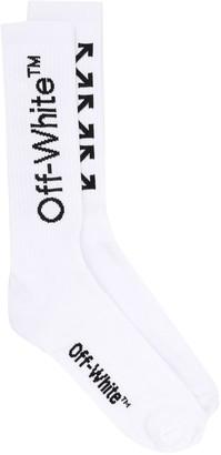 Off-White Arrows logo socks