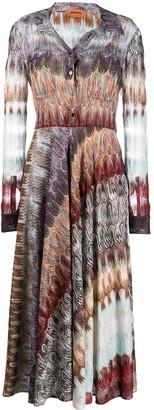 Missoni Patterned Glitter Detail Dress