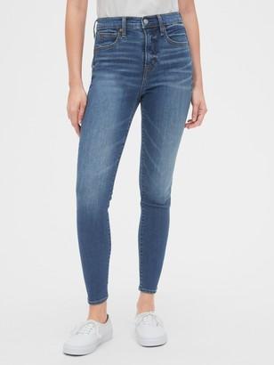 Gap High Rise True Skinny Jeans