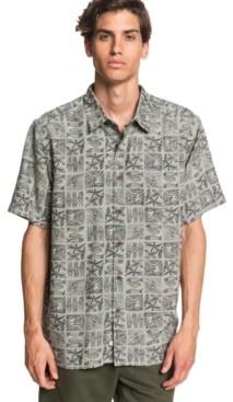 Quiksilver Men's Natural Life Short Sleeve Shirt