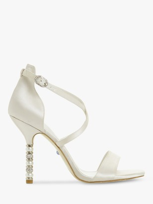 Dune Bridal Collection Meaningful Stiletto Heel Sandals, Ivory