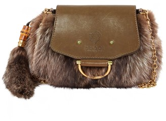 Gucci \N Brown Fox Clutch bags