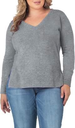 Standards & Practices V-Neck Cashmere Sweater
