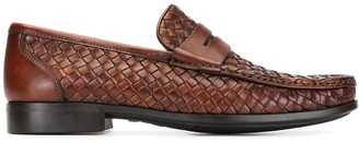 Magnanni Herrera woven loafers