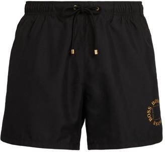 BOSS Side Stripe Swim Shorts
