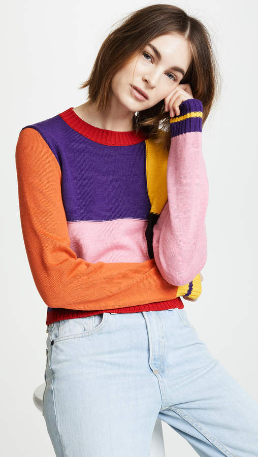 MSGM Multi Colored Sweater