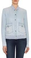 Joe's Jeans Women's Briggite Chambray Bomber Jacket