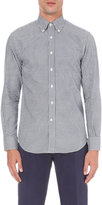 Canali Gingham-print Regular-fit Cotton Shirt
