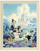 Disney ''Mickey and Minnie Wedding'' Giclée by Randy Souders
