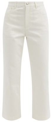 A.P.C. Sailor High-rise Cropped Jeans - White