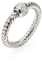 Roberto Coin 18K White Gold & 0.09 Total Ct. Diamond Ring