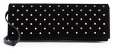 Saint Laurent Fetiche Crystal Embellished Clutch - Black
