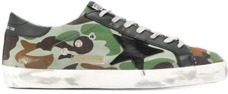Golden Goose Superstar camouflage sneakers