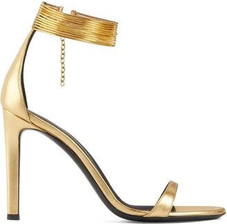 Giuseppe Zanotti Kay jewel anklet sandals