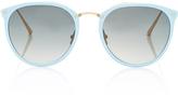 Linda Farrow Butterfly-Frame Acetate Sunglasses