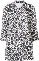 Joie leopard print coat