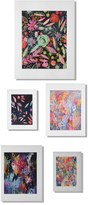 DENY Designs 'Twilight' Wall Art Gallery (Set of 5)