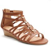 Apt. 9 Women's Wedge Gladiator Sandals