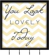 You Look Lovely Wall Functional Keepsake Box - 15.25 x 15.25