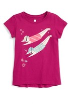 Tea Collection Toddler Girl's Ama Divers Graphic Tee