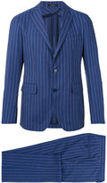 Tagliatore striped two-button suit - men - Cupro/Wool - 50