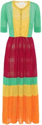 Gabriela Hearst Exclusive to Mytheresa Iris cotton and silk midi dress