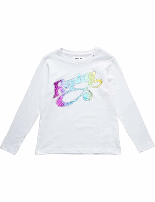 Replay Girl's Sg7091.066.22660g Long Sleeve Top