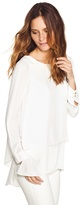 White House Black Market Double-Layer Tunic