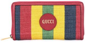 Gucci Baiadera stripe canvas purse